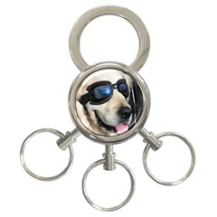 Cool Dog  3-Ring Key Chain by Siebenhuehner