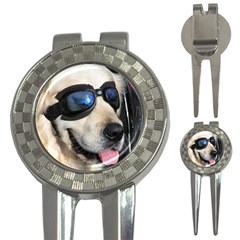 Cool Dog  Golf Pitchfork & Ball Marker by Siebenhuehner
