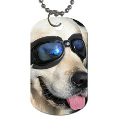 Cool Dog  Dog Tag (one Sided) by Siebenhuehner