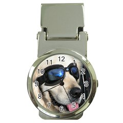 Cool Dog  Money Clip With Watch by Siebenhuehner