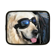 Cool Dog  Netbook Case (Small) by Siebenhuehner