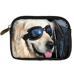 Cool Dog  Digital Camera Leather Case by Siebenhuehner