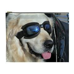 Cool Dog  Cosmetic Bag (xl) by Siebenhuehner