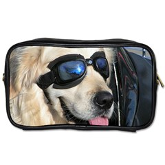 Cool Dog  Travel Toiletry Bag (one Side) by Siebenhuehner