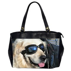 Cool Dog  Oversize Office Handbag (two Sides) by Siebenhuehner