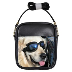 Cool Dog  Girl s Sling Bag by Siebenhuehner