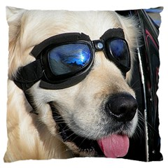 Cool Dog  Large Cushion Case (two Sided)  by Siebenhuehner