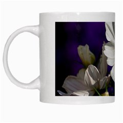 Cosmea   White Coffee Mug by Siebenhuehner