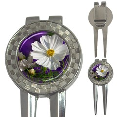 Cosmea   Golf Pitchfork & Ball Marker by Siebenhuehner