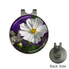Cosmea   Hat Clip With Golf Ball Marker by Siebenhuehner
