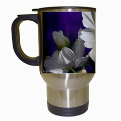 Cosmea   Travel Mug (white) by Siebenhuehner
