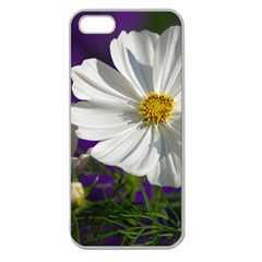 Cosmea   Apple Seamless Iphone 5 Case (clear) by Siebenhuehner
