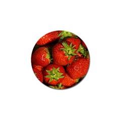Strawberry  Golf Ball Marker 10 Pack by Siebenhuehner