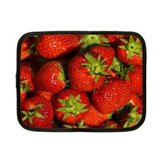 Strawberry  Netbook Case (Small) by Siebenhuehner