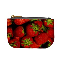 Strawberry  Coin Change Purse by Siebenhuehner