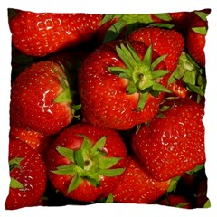 Strawberry  Large Cushion Case (two Sided)  by Siebenhuehner