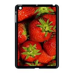 Strawberry  Apple Ipad Mini Case (black) by Siebenhuehner