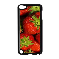 Strawberry  Apple Ipod Touch 5 Case (black) by Siebenhuehner