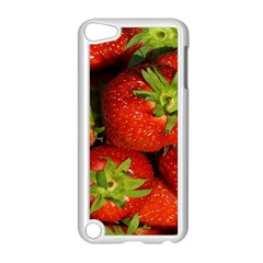 Strawberry  Apple Ipod Touch 5 Case (white) by Siebenhuehner