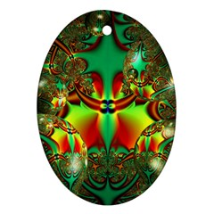 Magic Balls Oval Ornament (two Sides) by Siebenhuehner
