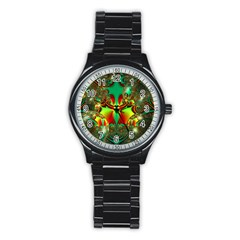 Magic Balls Sport Metal Watch (black)