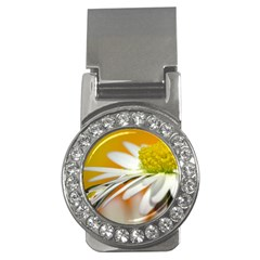 Daisy With Drops Money Clip (cz) by Siebenhuehner