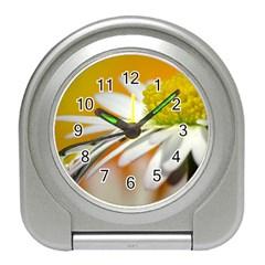 Daisy With Drops Desk Alarm Clock by Siebenhuehner