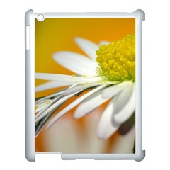 Daisy With Drops Apple Ipad 3/4 Case (white) by Siebenhuehner