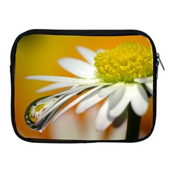 Daisy With Drops Apple Ipad 2/3/4 Zipper Case by Siebenhuehner