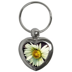 Daisy Key Chain (heart) by Siebenhuehner