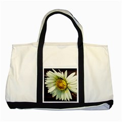 Daisy Two Toned Tote Bag by Siebenhuehner