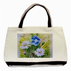 Meadow Flowers Classic Tote Bag (two Sides) by ArtByThree