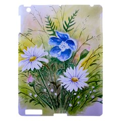 Meadow Flowers Apple Ipad 3/4 Hardshell Case by ArtByThree