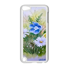 Meadow Flowers Apple iPod Touch 5 Case (White) by ArtByThree