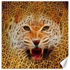 Electrified Fractal Jaguar Canvas 16  X 16  by TheWowFactor