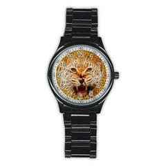 66w Sport Metal Watch (Black)
