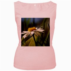 Daisy Womens  Tank Top (pink) by Siebenhuehner