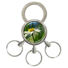 Daisy 3 Ring Key Chain by Siebenhuehner