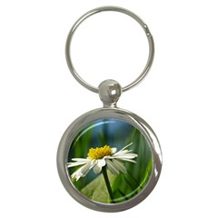 Daisy Key Chain (round) by Siebenhuehner