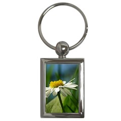 Daisy Key Chain (rectangle) by Siebenhuehner