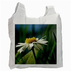 Daisy Recycle Bag (two Sides) by Siebenhuehner