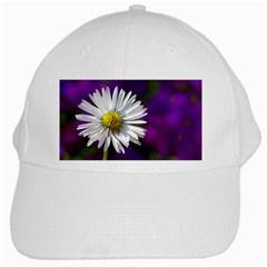 Daisy White Baseball Cap by Siebenhuehner