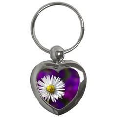 Daisy Key Chain (heart) by Siebenhuehner