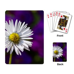 Daisy Playing Cards Single Design by Siebenhuehner