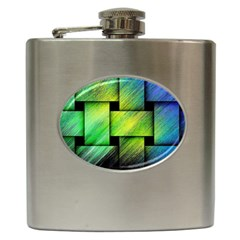 Modern Art Hip Flask by Siebenhuehner