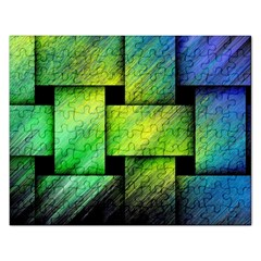 Modern Art Jigsaw Puzzle (rectangle) by Siebenhuehner