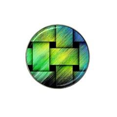 Modern Art Golf Ball Marker 4 Pack (for Hat Clip) by Siebenhuehner