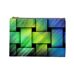 Modern Art Cosmetic Bag (large) by Siebenhuehner