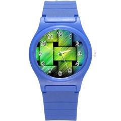 Modern Art Plastic Sport Watch (small) by Siebenhuehner