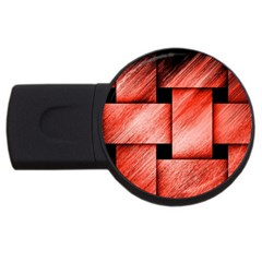 Modern Art 2gb Usb Flash Drive (round) by Siebenhuehner
